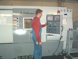 DOOSAN - CNC - Doppelspindeldrehmaschine S310 SMLY