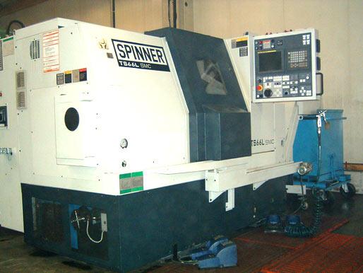 SPINNER-CNC-Doppelspindeldrehmaschine